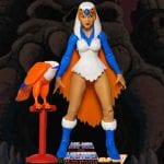 Sorceress action figure from the Filmation Super7 Masters of the Universe toy line. Find other figures, weapons, vehicles, and accessories using the Weapons Rack.