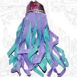 This is Spinnerella's silver streamer belt from the 1987 She-Ra Princess of Power toy line.