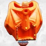 Stinkor's armor from the Masters of the Universe Classics toy line.