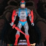 Stratos action figure from the Filmation Super7 Masters of the Universe toy line. Find other figures, weapons, vehicles, and accessories using the Weapons Rack.