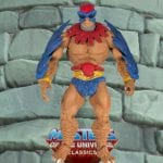 Stratos mini comic version action figure from the Masters of the Universe Classics line. Find other figures, weapons, vehicles, and accessories using the Weapons Rack.