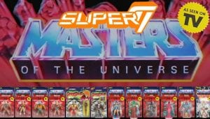 Masters of the Universe Vintage Super7 toy line