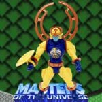 Sy-Klone action figure from the Masters of the Universe Modern Series toy line. Find other figures & accessories using the Weapons Rack.