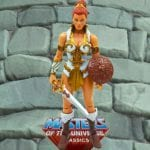 Teela action figure from the Masters of the Universe Classics line. Find other figures, weapons, vehicles, and accessories using the Weapons Rack.