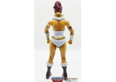 Teela Masters of the Universe Back View