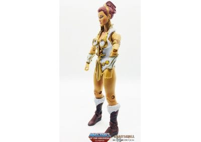 Teela Masters of the Universe Left Side View