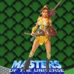 Teela action figure from the Masters of the Universe Modern Series toy line. Find other figures & accessories using the Weapons Rack.