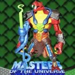 The General action figure from the Masters of the Universe 200x Modern Series toy line.