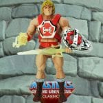Thunder Punch He-Man action figure from the Masters of the Universe Classics toy line. Find other figures, weapons, vehicles, and accessories using the Weapons Rack.
