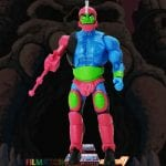 Trap Jaw action figure from the Filmation Super7 Masters of the Universe toy line. Find other figures, weapons, vehicles, and accessories using the Weapons Rack.