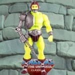 Trap Jaw Mini Comic Version action figure from the Masters of the Universe Classics line. Find other figures, weapons, vehicles, and accessories using the Weapons Rack.