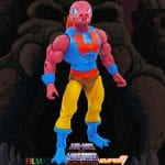 Tung Lashor action figure from the Filmation Super7 Masters of the Universe toy line. Find other figures, weapons, vehicles, and accessories using the Weapons Rack.