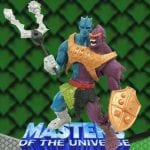 Two Bad action figure from the Masters of the Universe 200x Modern Series toy line. Find other figures, weapons, and accessories using the Weapons Rack.