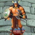 Vikor action figure from the Masters of the Universe Classics toy line. Find other figures, weapons, vehicles, and accessories using the Weapons Rack.