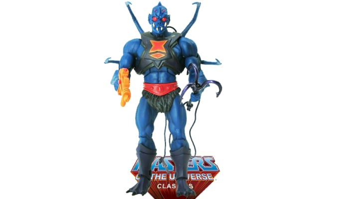 Webstor action figure from the Masters of the Universe Classics toy line.