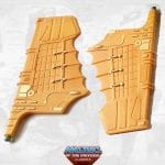Wind Raider wings from the Masters of the Universe Classics toy line. Find other figures, weapons, vehicles, and accessories using the Weapons Rack.
