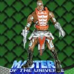 Zodak action figure from the Masters of the Universe 200x Modern Series toy line. Find other figures, weapons, and accessories using the Weapons Rack.