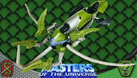 Attack Squid 2003 Masters of the Universe 200x Modern Series Vehicle