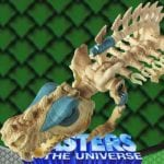 Battle Bones creature from the Masters of the Universe 200x Modern Series.