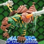 Battle Cat creature from the Masters of the Universe 200x Modern Series. Find other figures, weapons, vehicles, and accessories using the Weapons Rack.