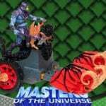 Battle Ram Chariot from the Masters of the Universe 200x Modern Series toy line.
