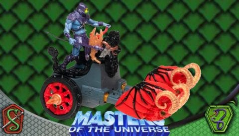 Battle Ram Chariot 2002 Masters of the Universe 200x Modern Series Vehicle