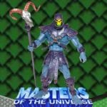 Skeletor action figure that came with the Battle Ram Chariot from the Masters of the Universe 200x Modern Series toy line.