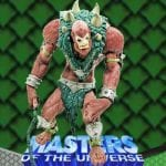 Beast Man repaint action figure from the 2002 Masters of the Universe 200x Modern Series toy line.