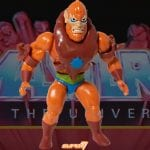 Beast Man action figure from the Vintage Super7 Masters of the Universe toy line. Find other figures, weapons, vehicles, and accessories using the Weapons Rack.