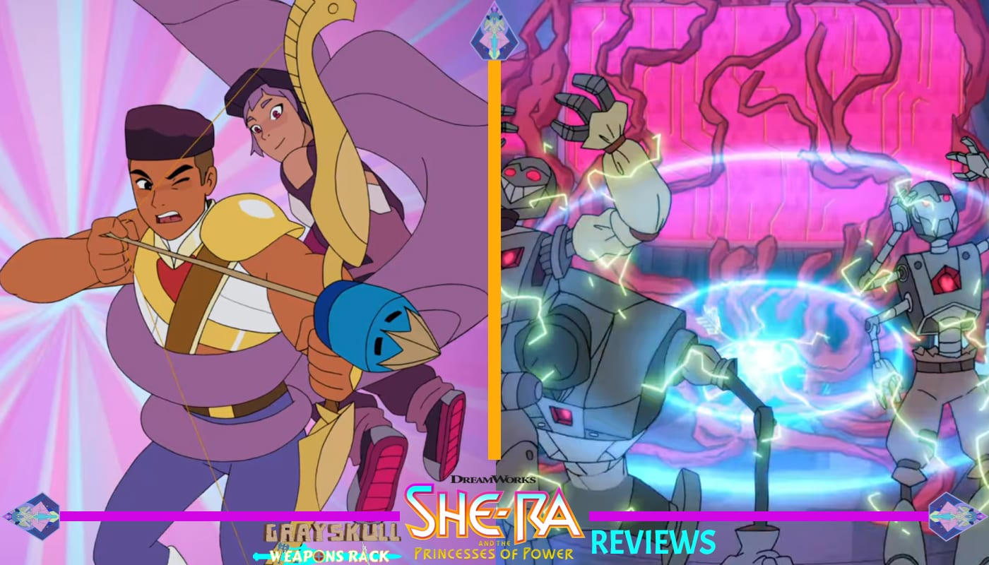 Bow shoots sonic arrow into the heart of the disk She-Ra and the Princess of Power Season 1 Episode 6 Review