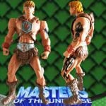 Tattoo version of the He-Man action figure that came with the Dragon Walker from the Masters of the Universe 200x Modern Series toy line.
