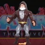 Eldor action figure from the Vintage Super7 Masters of the Universe toy line. Find other figures, weapons, vehicles, and accessories using the Weapons Rack.