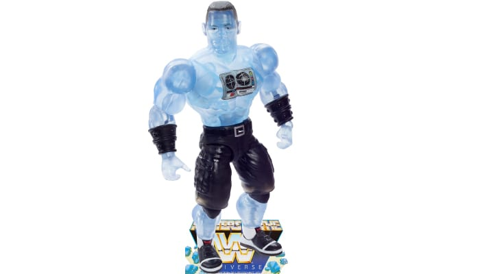 Faker John Cena from the WWE Masters of the Universe toy line.