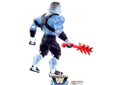 Faker John Cena WWE Masters of the Universe Figure Back View