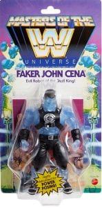 Faker John Cena WWE Masters of the Universe Package Front