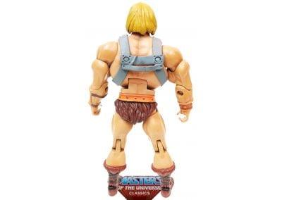 He-Man MOTU Classics Back View
