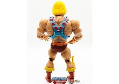 He-Man MOTU Origins Figure Back View