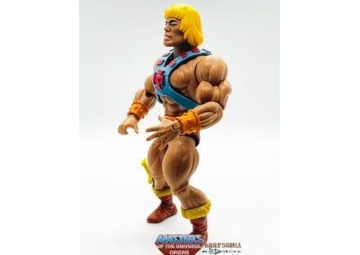 He-Man MOTU Origins Figure Left Side View
