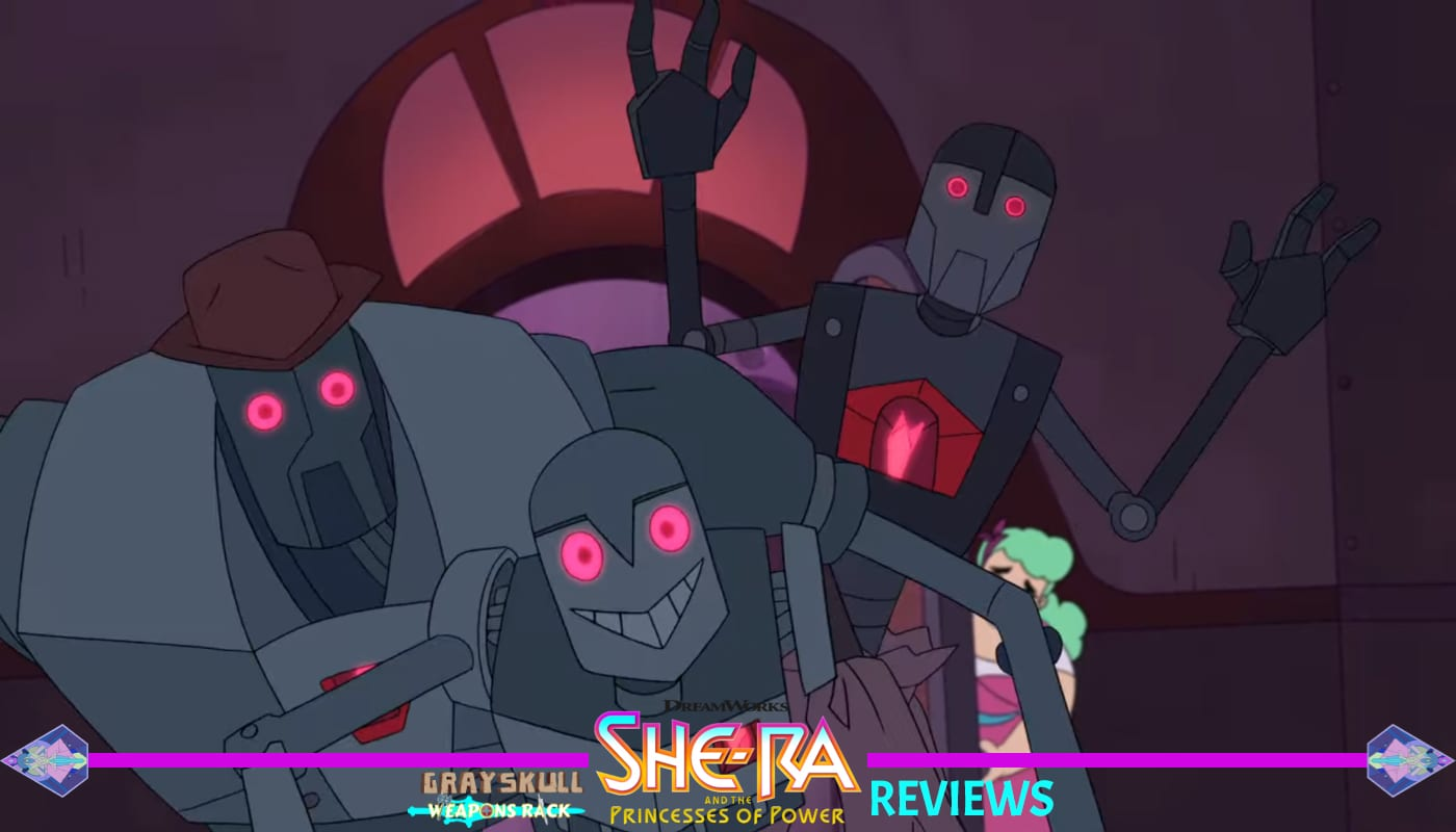 Infected Robots She-Ra and the Princess of Power Season 1 Episode 6 Review