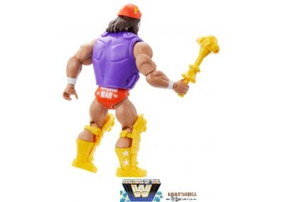 MAcho Man WWE Masters of the Universe Figure Back View