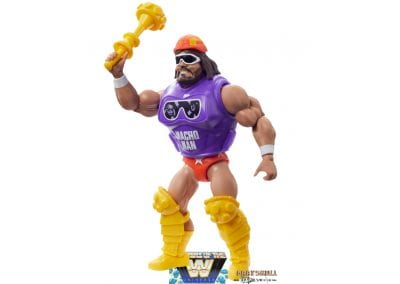 MAcho Man WWE Masters of the Universe Figure Left Side View