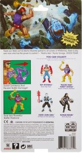 Macho Man WWE Masters of the Universe Package Back