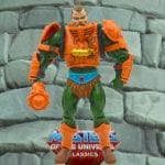 Man-at-Arms Battle Ram driver from the Masters of the Universe Classics toy line. Find other figures, weapons, vehicles, and accessories using the Weapons Rack.