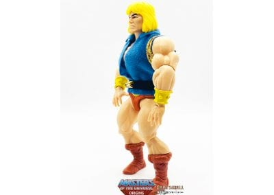 Prince Adam SDCC Exclusive Masters of the Universe Origins Figure Left Side View