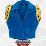 Prince Adam's vest from the SDCC Exclusive Masters of the Universe Origins toy line.