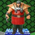 Ram Man repaint action figure from the Masters of the Universe 200x Modern Series toy line.
