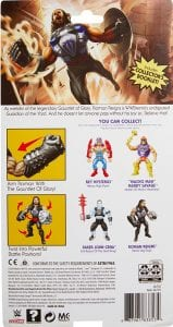 Roman Reigns WWE Masters of the Universe Package Back