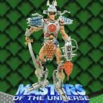 Samurai He-Manaction figure from the Masters of the Universe 200x Modern Series toy line. Find other figures, weapons, vehicles, and accessories using the Weapons Rack.
