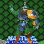 Samurai Man-At-Arms action figure from the Masters of the Universe 200x Modern Series toy line.
