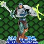 Serpent Claw Man-At-Arms action figure from the Masters of the Universe 200x Modern Series toy line.. Find other figures, weapons, vehicles, and accessories using the Weapons Rack.